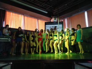 Pole dance концерт